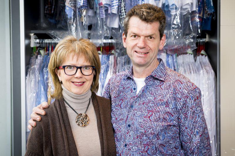 Fotografie der Inhaber Christine und Günter Aichele